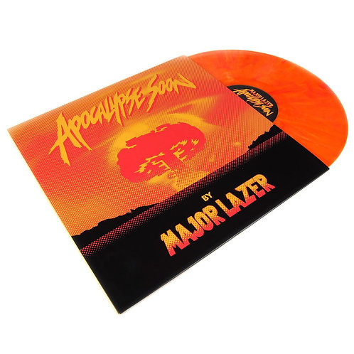 Major Lazer ‎ Apocalypse Soon (Orange Vinyl)