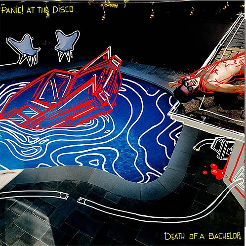 Panic At The Disco! - Death Of A Bachelor (Limited Silver Colored VInyl)