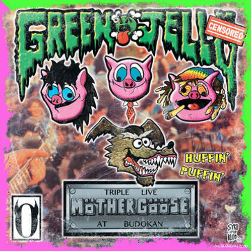 Green Jelly - Triple Live Mother Goose At Budokan