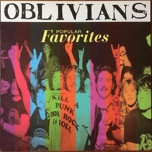 Oblivians ‎– Popular Favorites