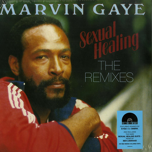 Marvin Gaye ‎- Sexual Healing The Remixes (Colored Vinyl)