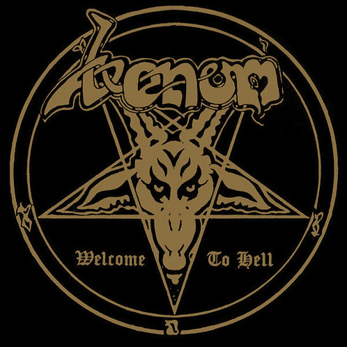 Venom (8) ‎– Welcome To Hell