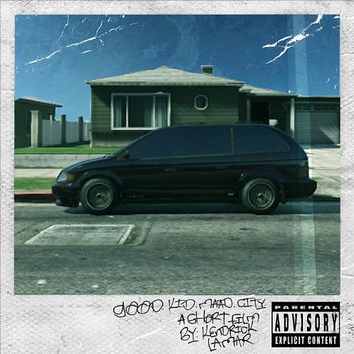 Kendrick Lamar - Good kid, M.A.A.D City (Clear Vinyl)