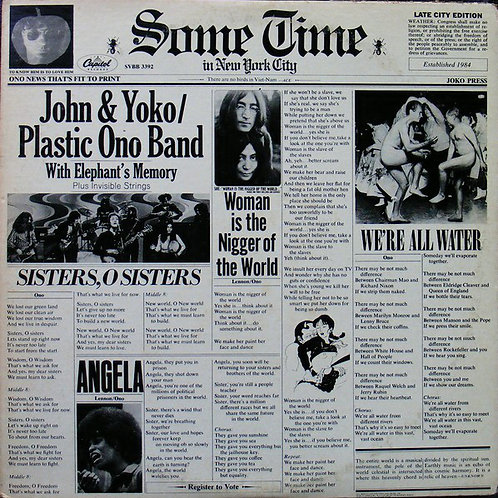 John & Yoko Plastic Ono Band With Elephant's Memory And Invisible Strings ‎
