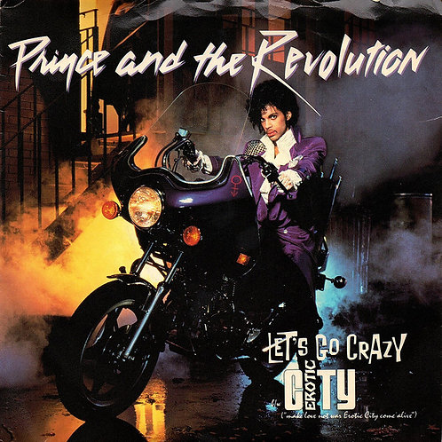 """Prince And The Revolution – Let's Go Crazy Erotic City (7"""")"""