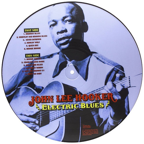 John Lee Hooker ‎ Electric Blues (Picture Disc)