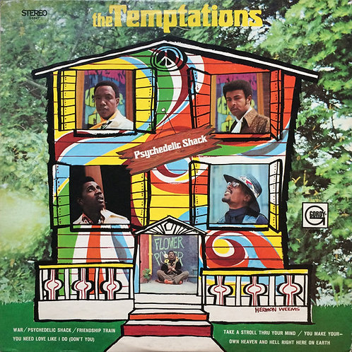 The Temptations ‎– Psychedelic Shack