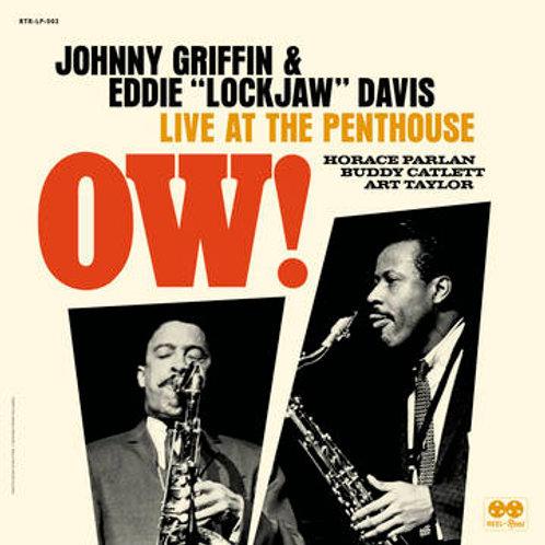 JOHNNY GRIFFIN / EDDIE 'LOCKJAW' DAVIS QUINTET - Ow! Live at The Penthouse