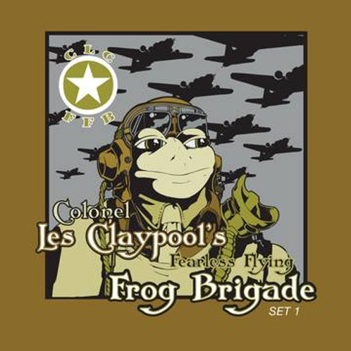 COLONEL LES CLAYPOOL'S FEARLESS FLYING FROG BRIGADE - Live Frogs Sets 1 & 2