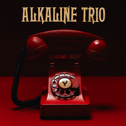 Alkaline Trio ‎ Is This Thing Cursed (Red Colored Vinyl)