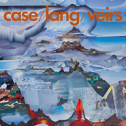 Case/Lang/Viers (Trans Blue Vinyl)