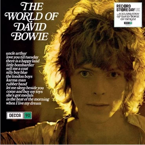 David Bowie - The World Of David Bowie (LP)