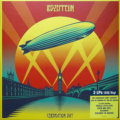Led Zeppelin ‎ Celebration Day