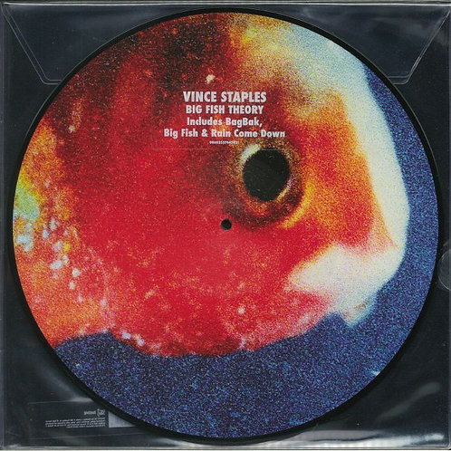 Vince Staples  Big Fish Theory (Picture Disc)