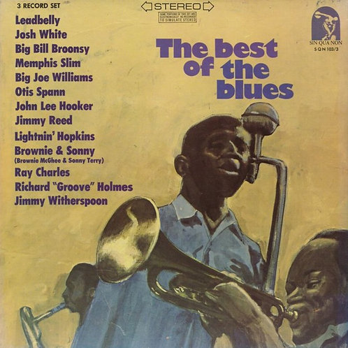 Various ‎– The Best Of The Blues
