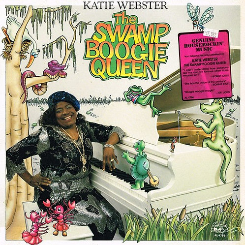 Katie Webster ‎– The Swamp Boogie Queen