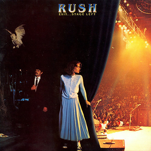 Rush ‎– Exit...Stage Left