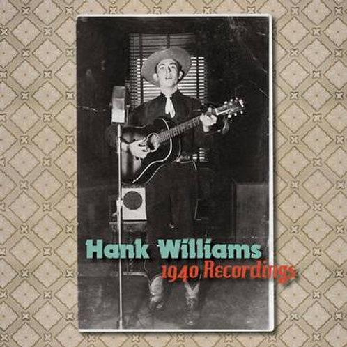 Hank Williams - The 1940 Recordings