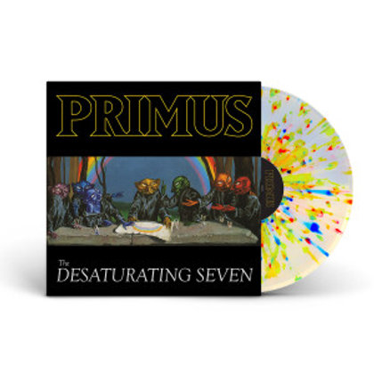 Primus The Desaturating Seven (Rainbow Splatter Colored Vinyl)