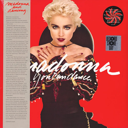 Madonna You Can Dance (Red Vinyl)