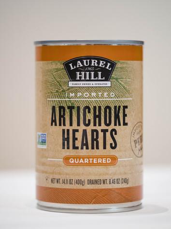 Artichoke Hearts Quartered