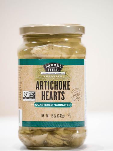 Artichoke Hearts - Marinated Quartered