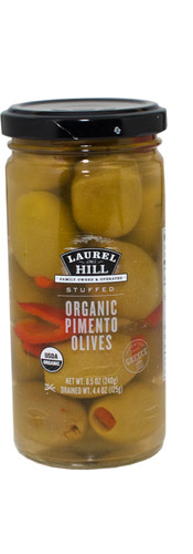Organic Pimento Stuffed Olives
