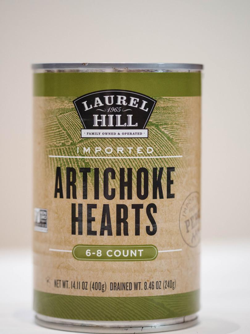 Artichoke Hearts 6-8 CT