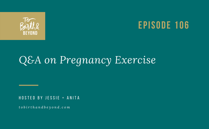 [Podcast] - Answers about Pregnancy Exercise