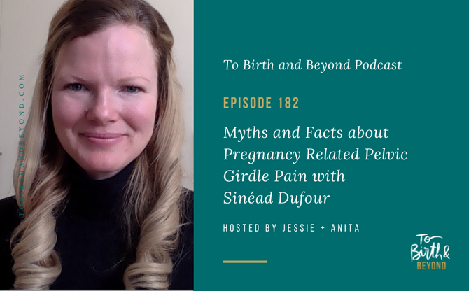[Podcast] Myths and Facts about Pregnancy Related Pelvic Girdle Pain with Sinéad Dufour