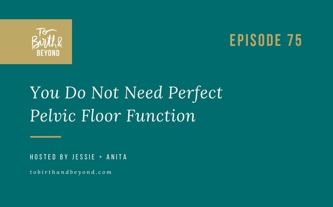 [Podcast] - You Do Not Need Perfect Pelvic Floor Function