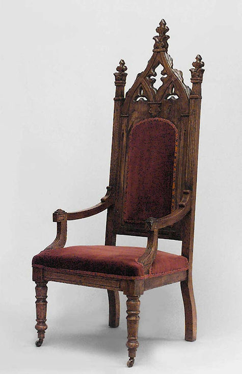 Gothic revival arm chair.jpg