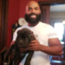 Mastino client with Santino daughter.jpg