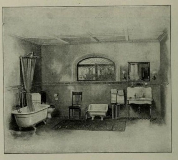 bathroom design James B Clow & Son 1902