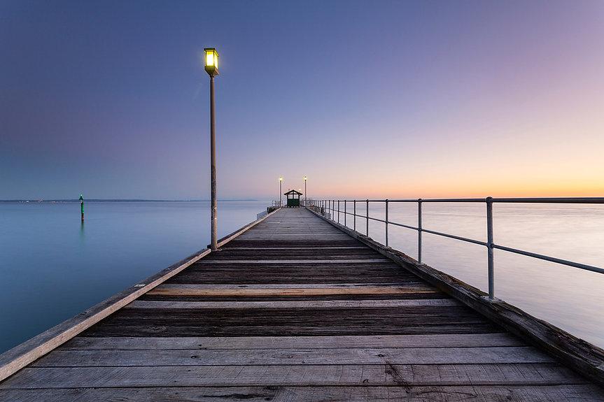 Mordialloc - Mordialloc Pier Sunset.jpg