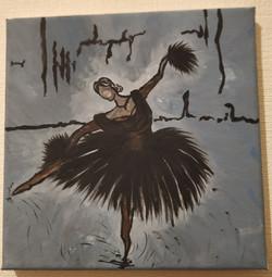Balerina on Canvass 2