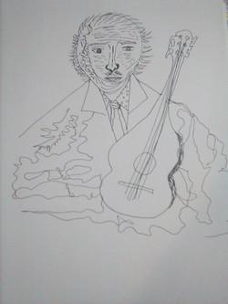 Troubadour sketch