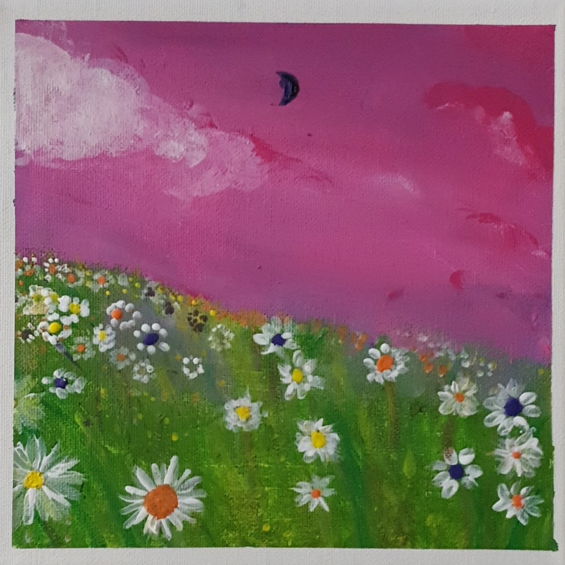 Flower Field Acrylic