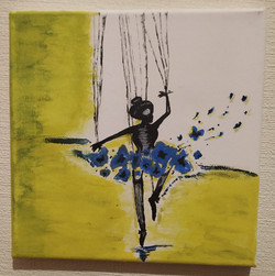Ballerina on Canvass 1