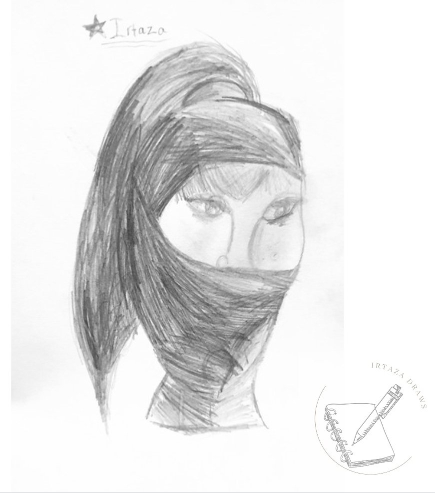 Sketch by Irtaza age 7