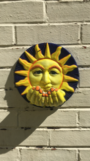 Painted Sun by Maggie
