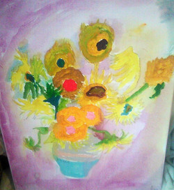 My version of Van Gogh's Sunflowers