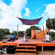 Shanti Yoga Deck