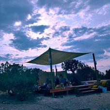 Outdoor Yoga at Shanti Community
