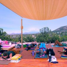 AM Yoga at Shanti Community