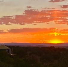 Sunset at Shanti