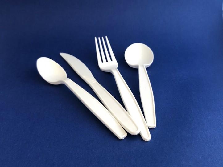 Cubiertos de PLA y Biodegradables
