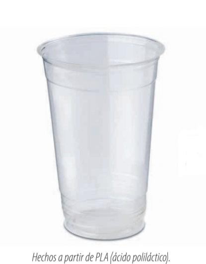 Vaso de PLA