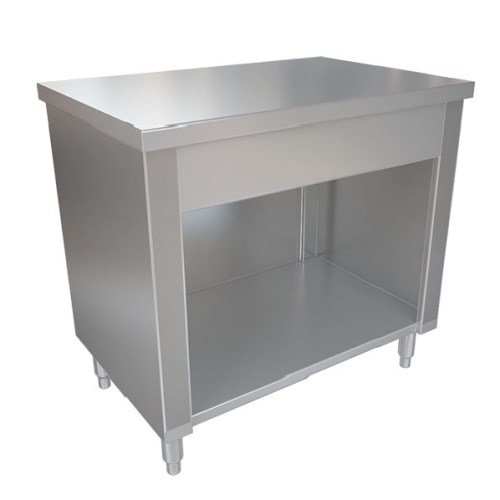 MESON NEUTRO 140X60X85CM INOX BIG COOK, 40001919