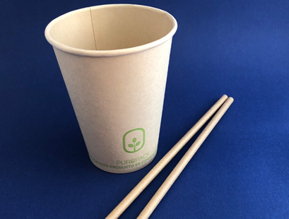 Vaso de Bamboo Compostable